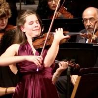 Aubree Oliverson Performs Wieniawski