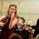 Aubree Oliverson, Dvorak Violin Concerto with the San Fernando Symphony