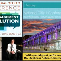 Dr. Stephen Oliverson, Aubree Oliverson, present at National Title I Conference