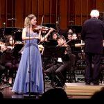 Aubree Oliverson, Dvorak Violin Concerto, Colburn Symphony, Pasadena CA