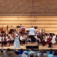 Aubree Oliverson, Aspen Philharmonic. Prokofiev Violin Concerto #2